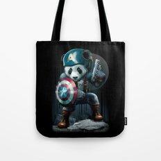 CAPTAIN PANDA Tote Bag