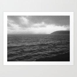 Carmarthen Bay vision Art Print