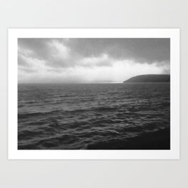 Carmarthen Bay vision Art Print