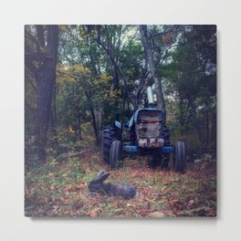 We are just a little rusty Metal Print