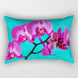 Orchid pink Rectangular Pillow