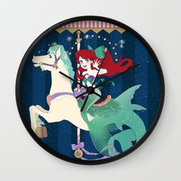 Carousel: So Wonerful Wall Clock