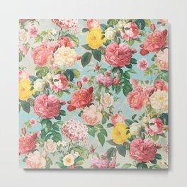 Floral B Metal Print