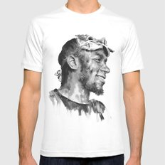 Mos Def Mens Fitted Tee MEDIUM White