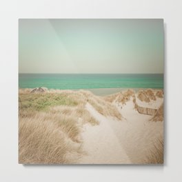 Beach dune miniature 4 Metal Print