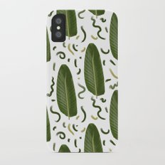 Marching leaves Slim Case iPhone X