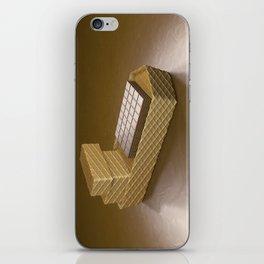 Chocolate Ship - 3D Art iPhone Skin
