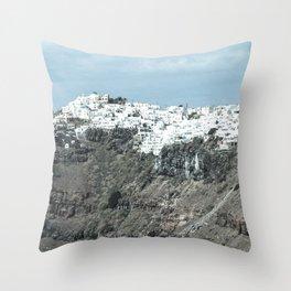 Santorini, Greece 16 Throw Pillow
