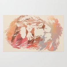 Desert Lion Rug