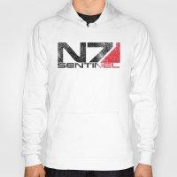 n7 Hoodies featuring Alt Sentinel by Draygin82