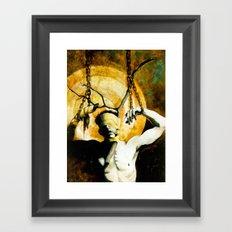The Elk Framed Art Print