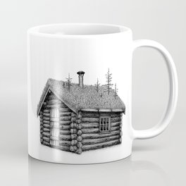 Little overgrown cabin Coffee Mug