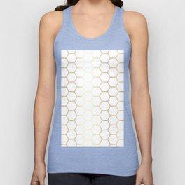 Honeycomb - Gold #170 Unisex Tank Top