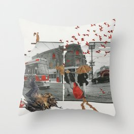 A Winter Afternoon Throw Pillow