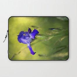 Violet Iris Flower Laptop Sleeve