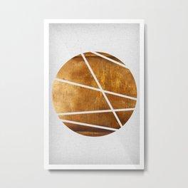 Circle Metal Print