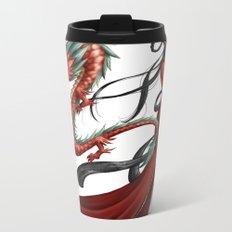 Chinese dragon pure Metal Travel Mug