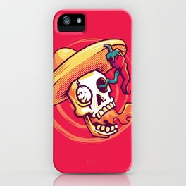 HABANERO! FIRE RED! iPhone Case