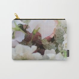 Sweet-Pea and Blackberry love Carry-All Pouch