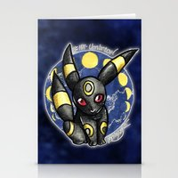 umbreon Stationery Cards featuring 197 - Umbreon by Lyxy