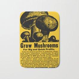 Grow Mushrooms! Bath Mat