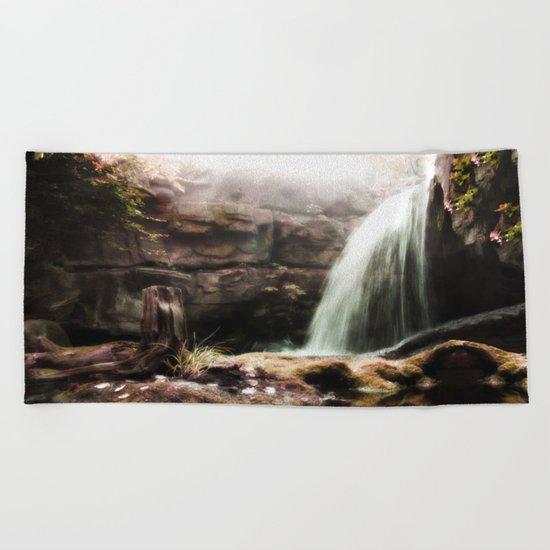 The Forgotten Cascades Beach Towel