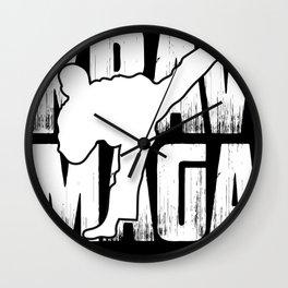 Krav Maga Vintage Training Kickboxing Gym Wall Clock