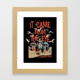 Pius Bak - It Came From the Eye Framed Art Print