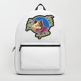 Wild Spirit Wolf Backpack