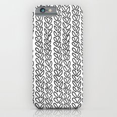 Knit Outline Zoom Slim Case iPhone 6s