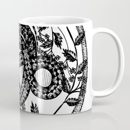 "Inktober, Day 1 ""Poisonous"" #inktober #inktober2018 Coffee Mug"