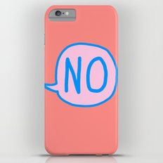 Answer is No Slim Case iPhone 6 Plus