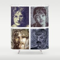 liverpool Shower Curtains featuring those four liverpool by bRIZZO