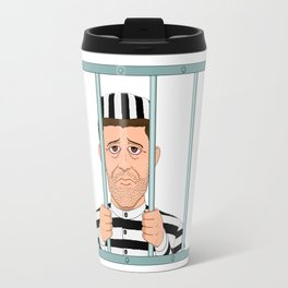 Prison Convict Captive Travel Mug