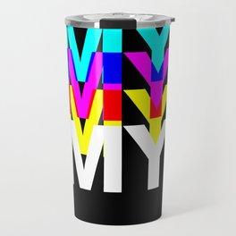CMYK ON BK Travel Mug