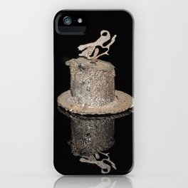 """Reflections"" - Metal Sculpture - Bug iPhone Case"