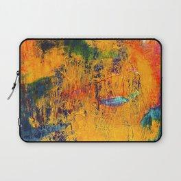 Imaginaere Landschaft II abstrakte Malerei Laptop Sleeve