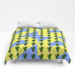 Cactus Pattern 2 Comforters