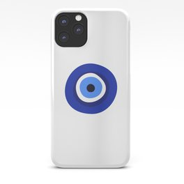 evil eye symbol iPhone Case