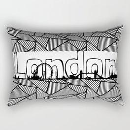 London #2 Rectangular Pillow