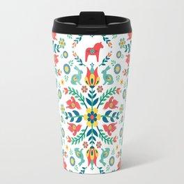 Swedish Folklore Travel Mug