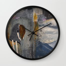 RESURFACE Wall Clock