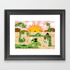 Monsters 2 ( 2007 ) Framed Art Print