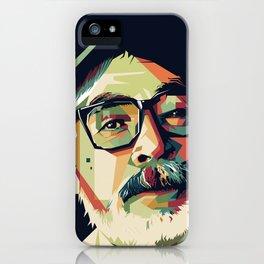Hayao Miyazaki - Mad4U iPhone Case