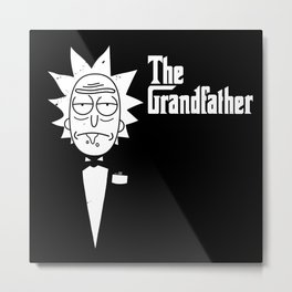 The Grandfather Metal Print