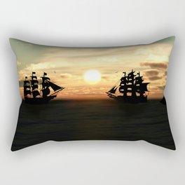 Seefahrt Begegnungen Rectangular Pillow