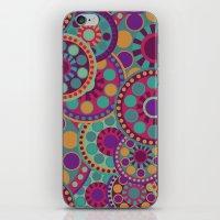 circles iPhone & iPod Skins featuring CIRCLES by Nika