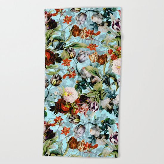 SUMMER BOTANICAL VI Beach Towel