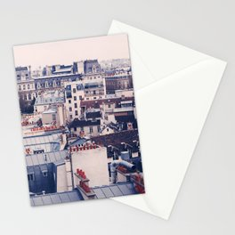 Paris Rooftops Reprise Stationery Cards