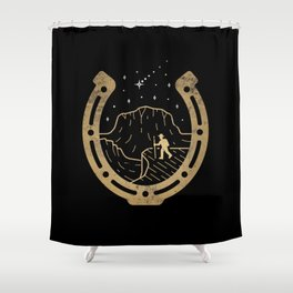 Lucky Stars Shower Curtain